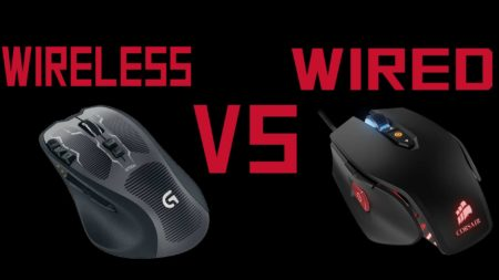 wired vs wireless mouse gaming