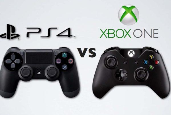 xbox controller vs ps4 controller