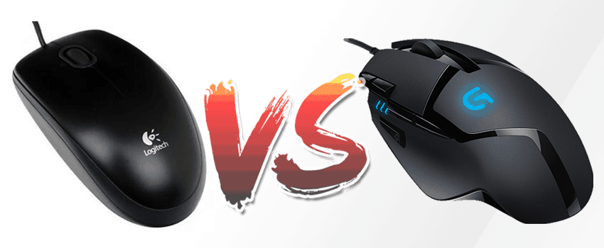 gaming vs normal mouse