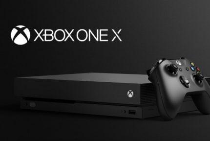 xbox one x 2018