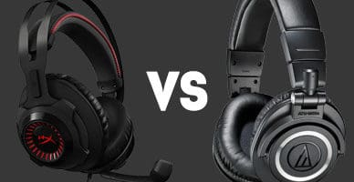 headphones vs headsets