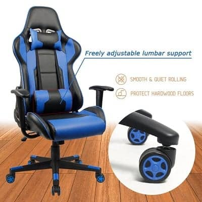 homall gaming chair review 2018
