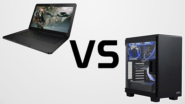 laptop vs desktop gaming