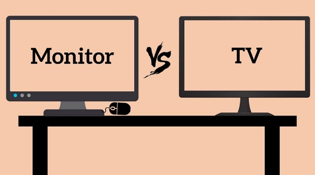 TV vs Monitor For Gaming - Which Should I Choose? [Simple Answer]
