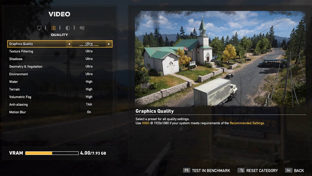 best settings for far cry 5