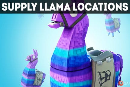 fortnite llama locations