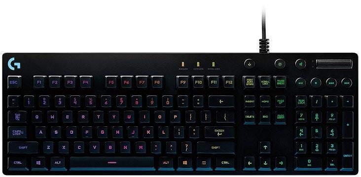 quiet gaming keyboard