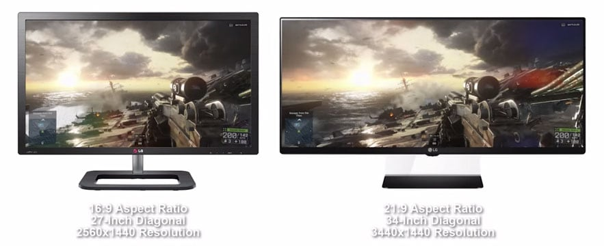 best aspect ratio for gaming