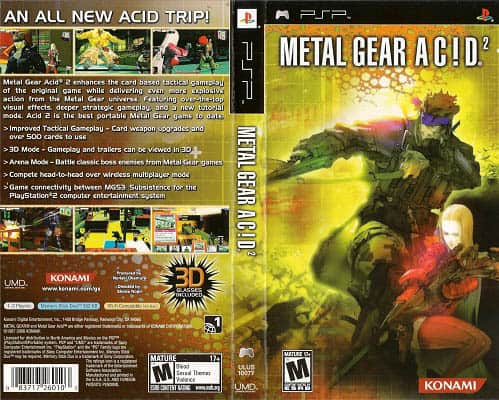 order of metal gear games