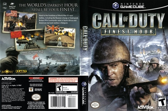 call of duty chronological order