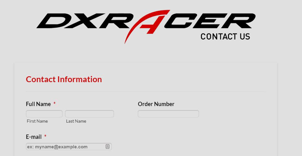 dxracer support