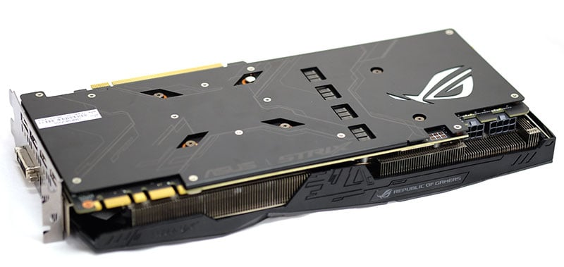 graphics card backplate