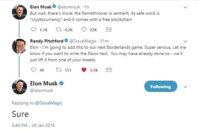 Borderlands 3 Elon Musk