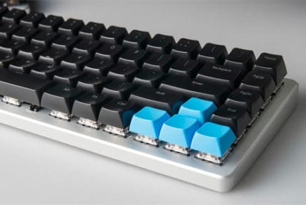 Clean Mechanical Keyboard