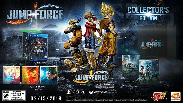 Jump Force Trailers