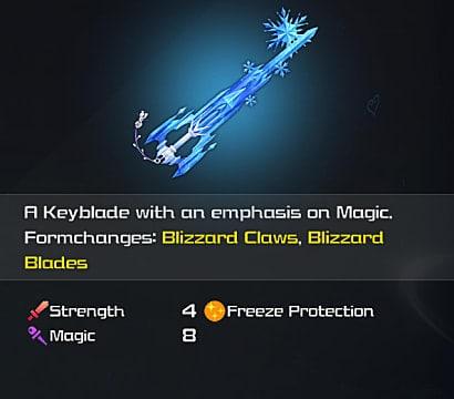 Keyblade Stats