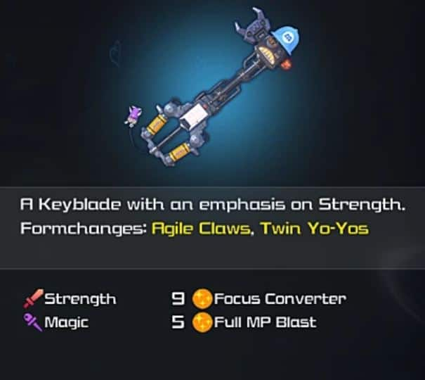 Kingdom Hearts 1 Keyblades