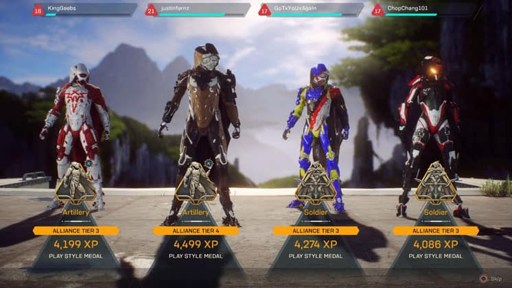 anthem game review 2020