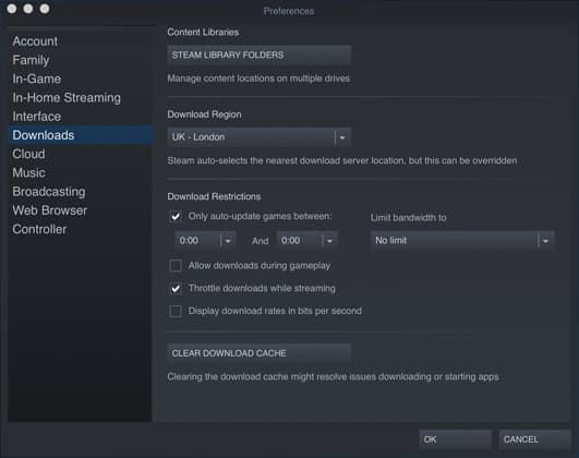 Steam Disable Auto Update