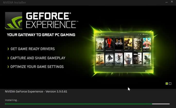 Unistall Geforce Experience