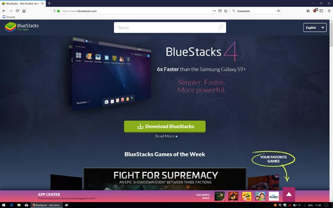 Bluestacks Engine Wont Start