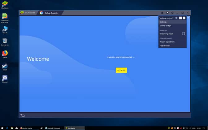 Bluestacks Engine Won't Start