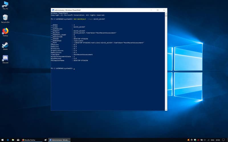 Computer Performance Test Windows 10