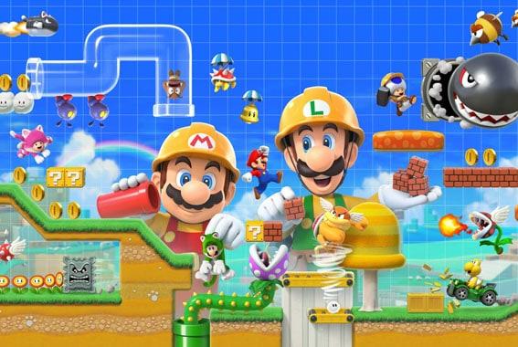 Mario Maker Switch
