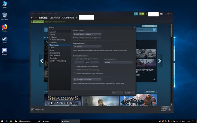 Getting The Not Enough Disk Space Error On Steam? [Here's