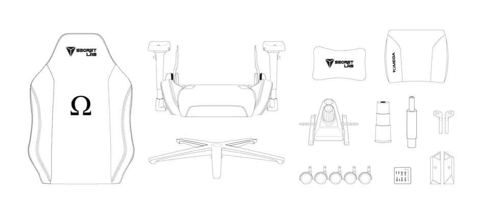 Omega 2019 Chair