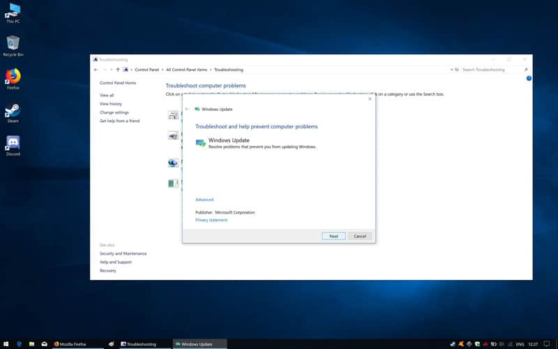 Windows 10 Update Issues