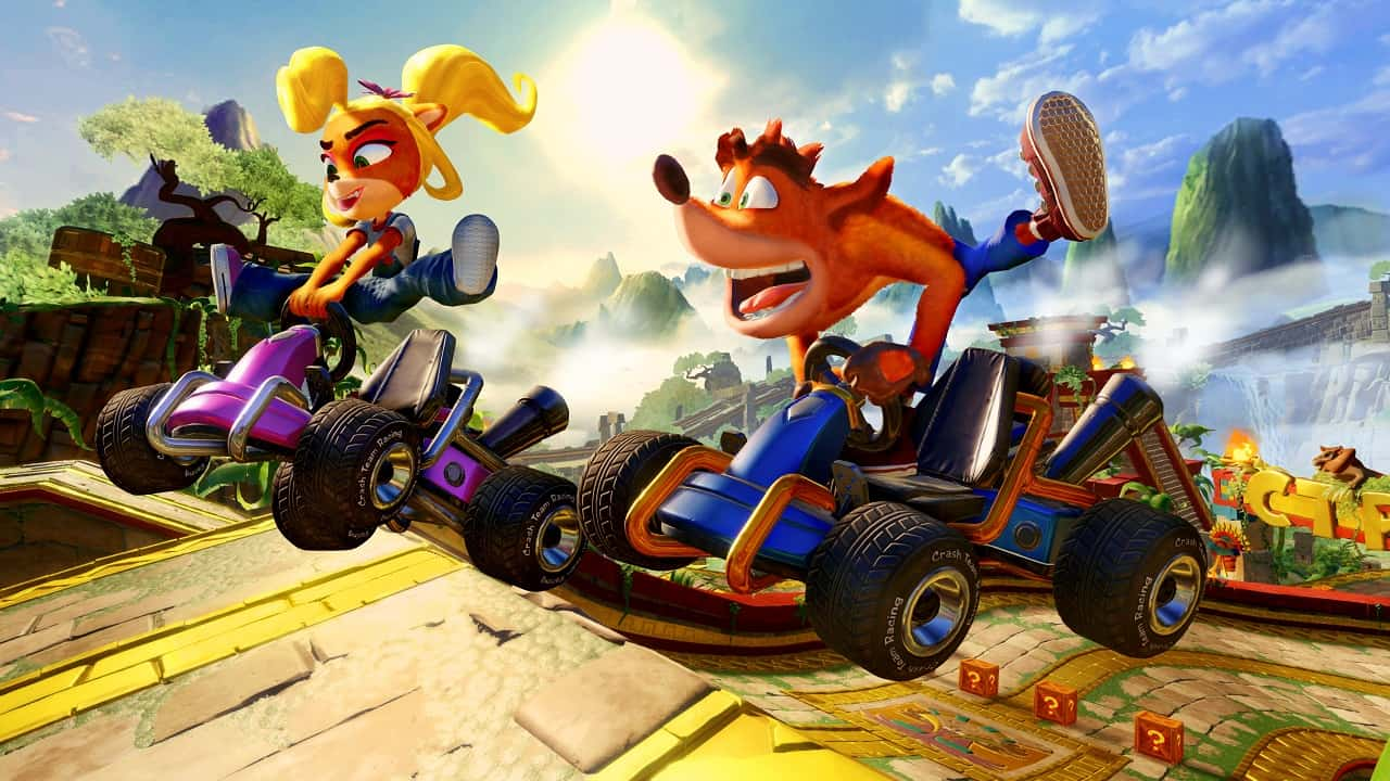ctr nitro-fueled gameplay