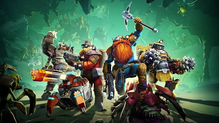 best coop games deep rock galactic
