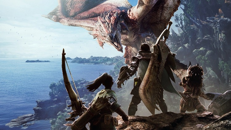 best coop games monster hunter world