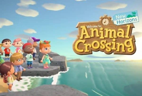 Animal Crossing New Horizons Title