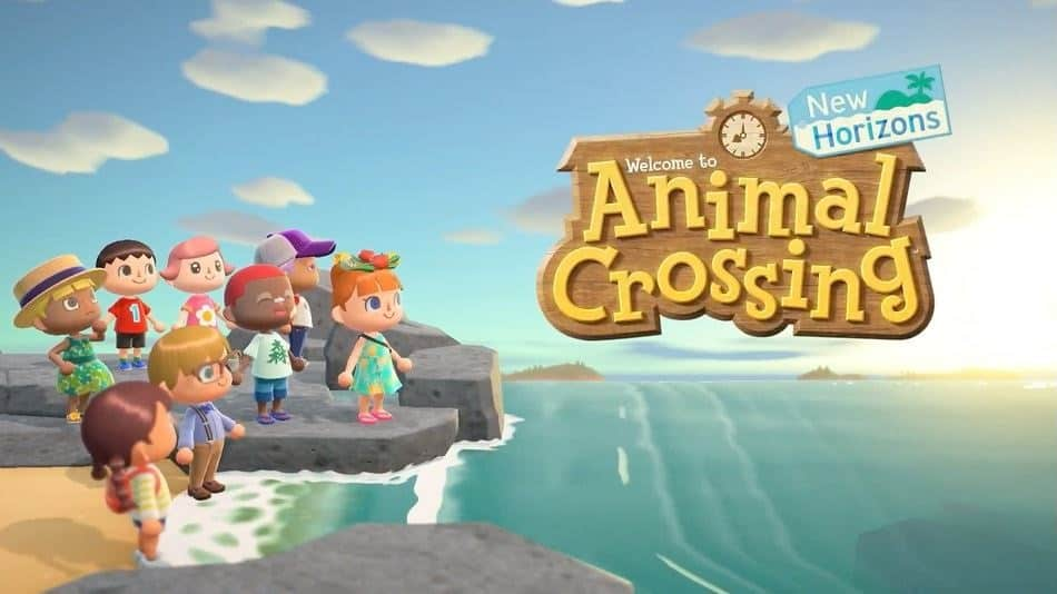 Animal Crossing New Horizons Title