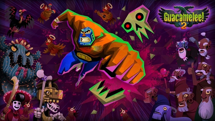 best coop games guacamelee