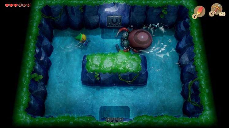 links awakening gameplay 1
