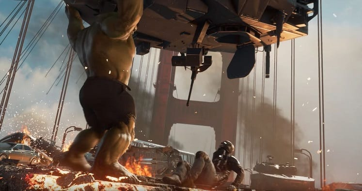 Avengers Gameplay 1