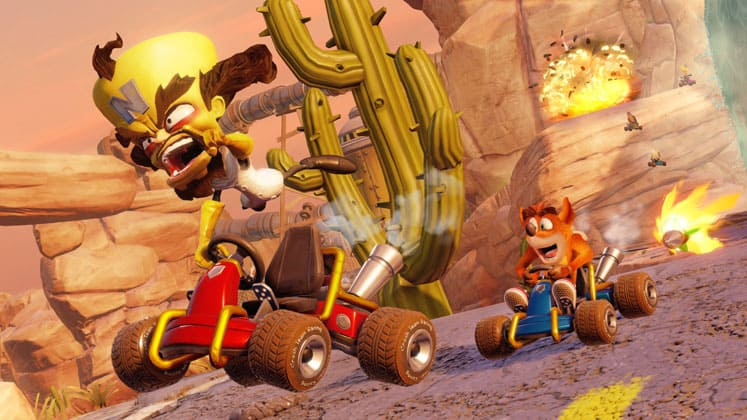 Crash ™ Team Racing Nitro Fueled Review