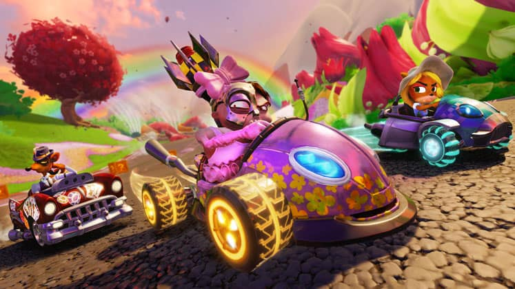 Crash Team Racing Nitro Fueled Ign Review