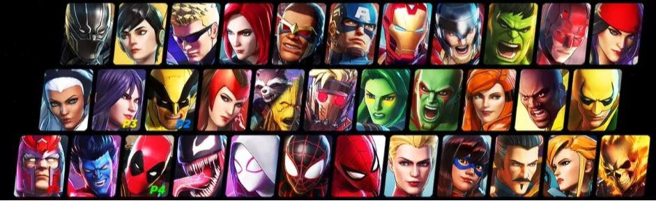 Ultimate Alliance Story Roster