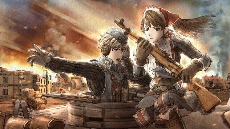 best ps now games - valkyria chronicles