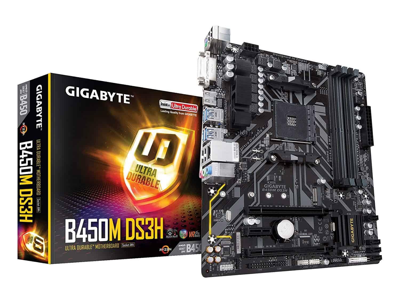Gigabyte B450 Ds3h