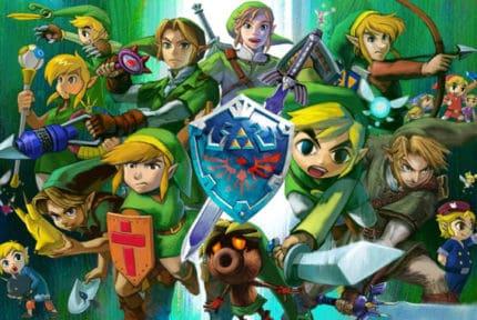 Zelda Video Games