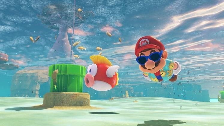 Best Switch Games Mario Odyssey