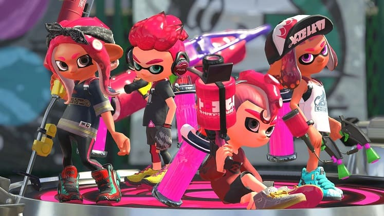 Best Switch Games Splatoon 2