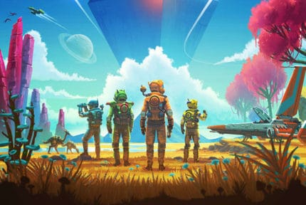 No Man's Sky Beyond Features
