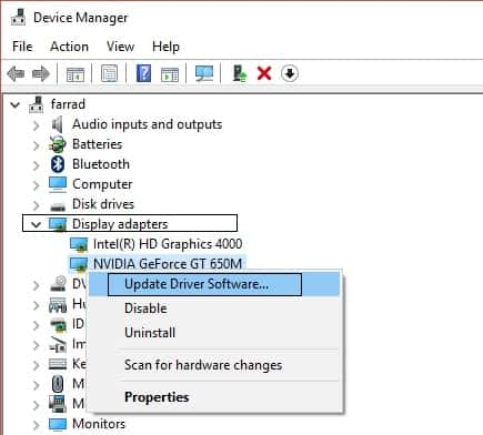 Nvidia Update Driver Software