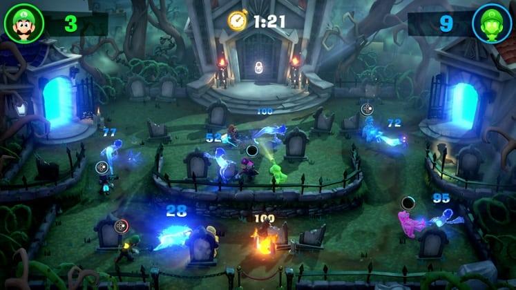 Luigis Mansion 3 Multiplayer